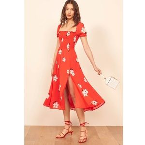 Reformation inka floral sun dress
